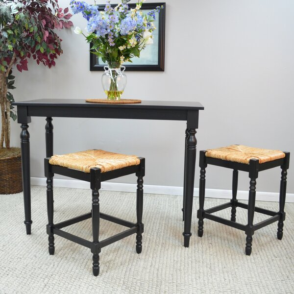 Emilia 3 Piece Pub Table Set by August Grove
