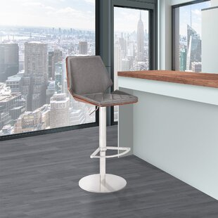 Vanover Adjustable Height Swivel Bar Stool