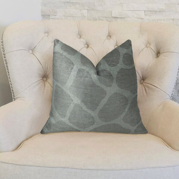 Rocky Way Handmade Throw Pillow by Plutus Brands