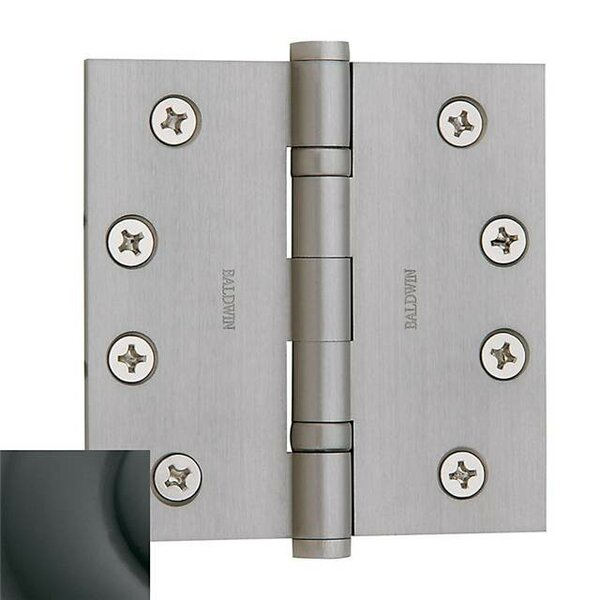 4 H x 4 W Ball Bearing Single Door Hinge by Baldwin