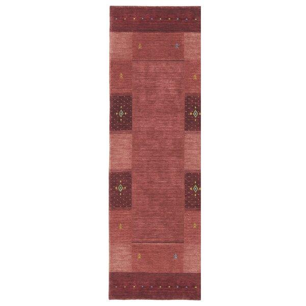 Seville Handmade Flatweave Wool Red Rug
