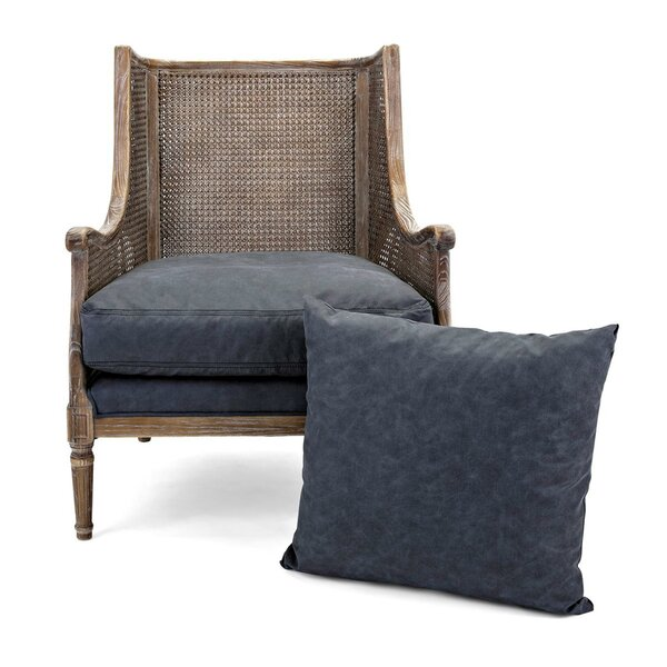Castano Wooden Armchair by Bungalow Rose