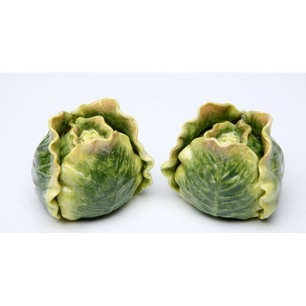 Cabbage Salt and Pepper Set by Cosmos Gifts