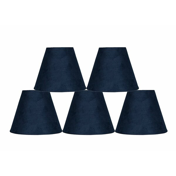 6 Suede Empire Lamp Shade (Set of 5) by Ebern Designs