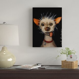 18ac70bbd66  Ugly Dog  Acrylic Painting Print on Wrapped Canvas