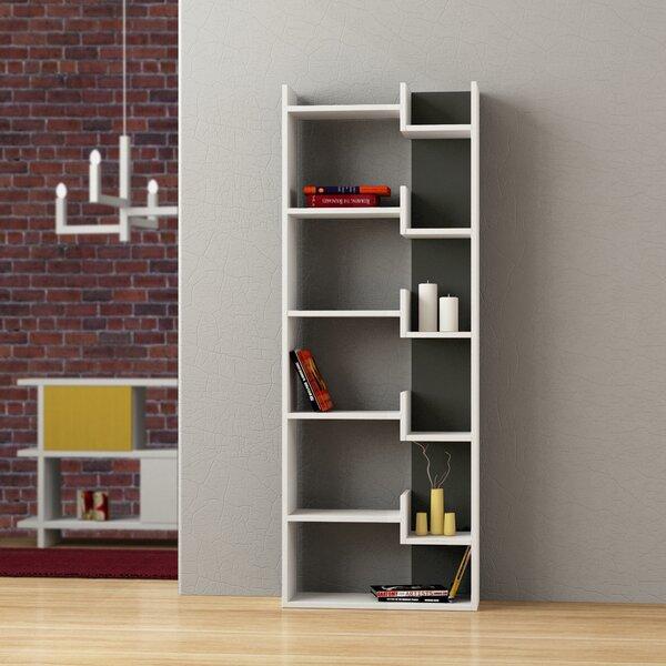 Sinquefield Geometric Bookcase By Ebern Designs