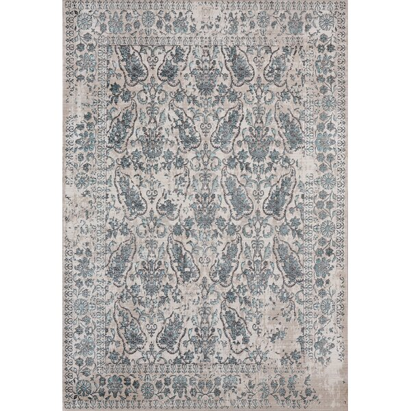 Rummond Blue/Beige Area Rug by Ophelia & Co.