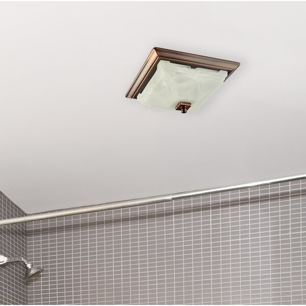 110 Cfm Bathroom Fan With Light By Lift Bridge Kitchen Bath.