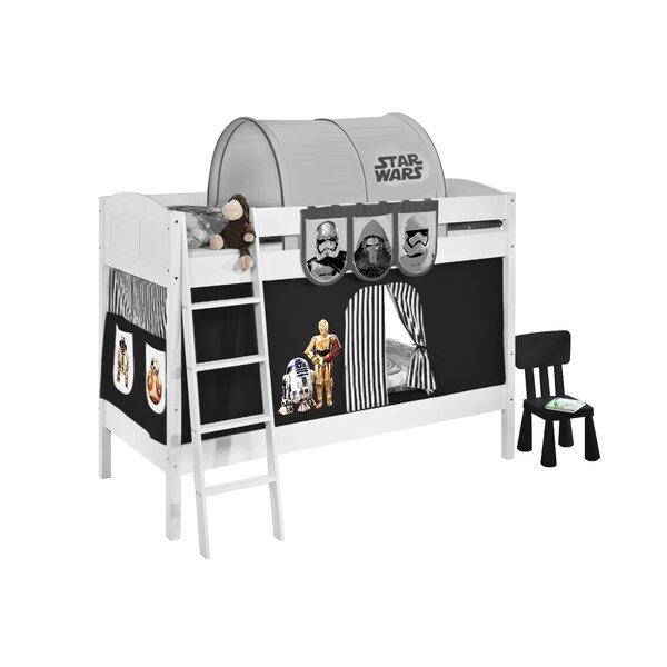 lilokids etagenbett star wars mit vorhang und lattenrost. Black Bedroom Furniture Sets. Home Design Ideas