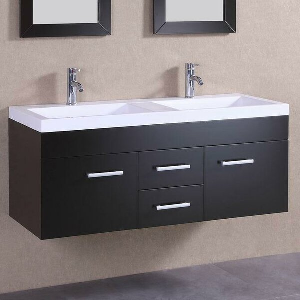 48 Double Modern Vanity Set by Belvedere Bath