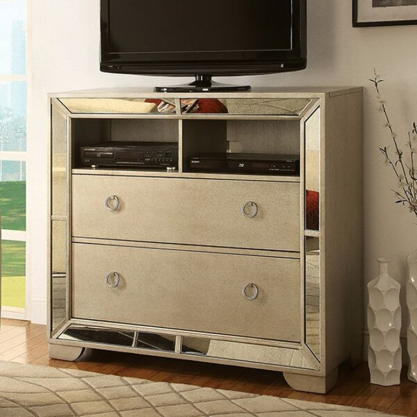 Susann 2 Drawer Dresser by House of Hampton