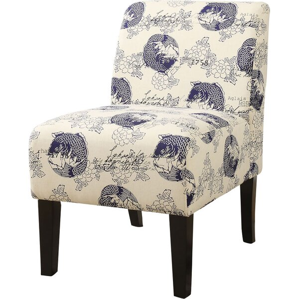 Javion Slipper Chair by World Menagerie
