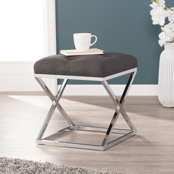 Wylie Accent Stool by Orren Ellis