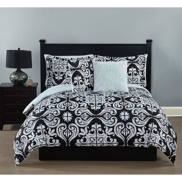 Fitzgerald 5 Piece Comforter Set By Alcott Hill.
