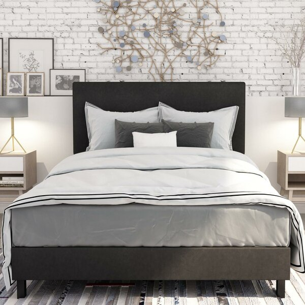 Pulliam Upholstered Panel Bed By Wrought Studio.