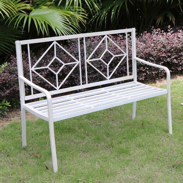 Torre Patio Steel Garden Bench