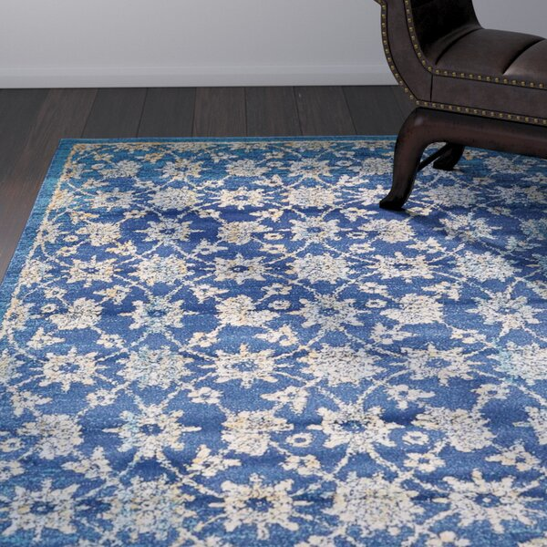 Geleen Blue Area Rug by World Menagerie