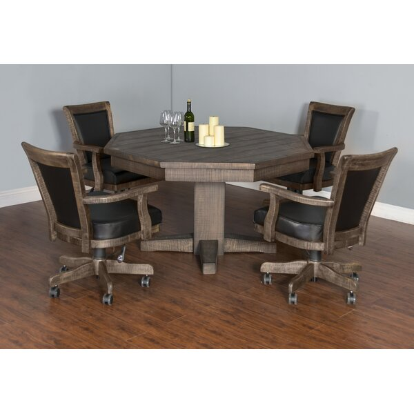 Amesite Solid Wood Dining Table by Loon Peak