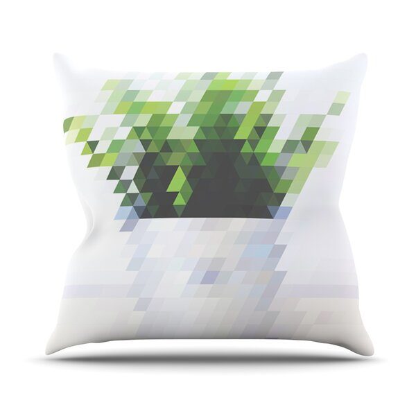 Plant Outdoor Throw Pillow by East Urban Home