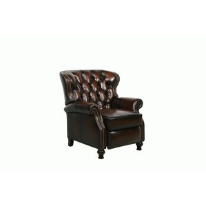 Harle Leather Recliner by Astoria Grand