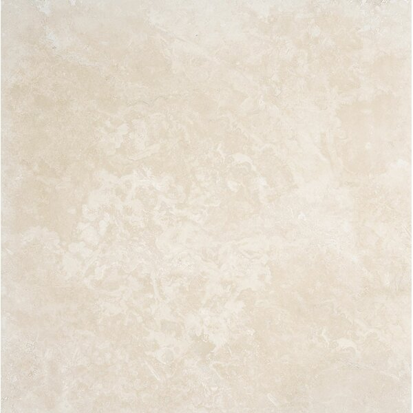 Premium 24 x 24 Stone Tile in Ivory Honed by Parvatile
