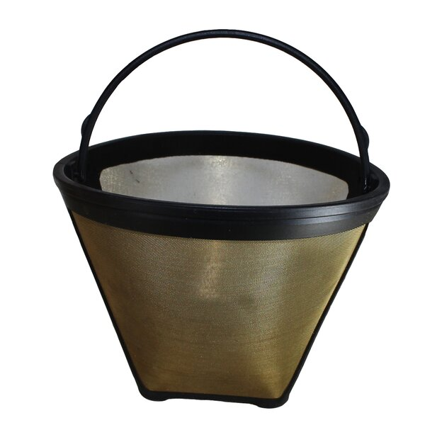 4 Cup Gold Tone Coffee Filter by Crucial