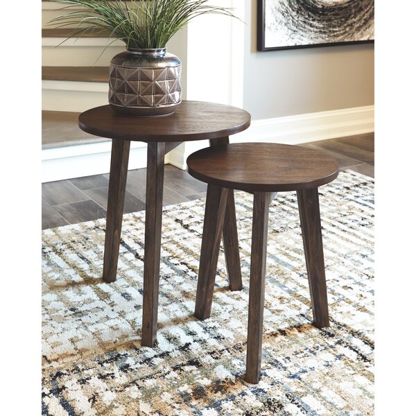 Moorhead 2 Piece Nesting Tables By Wrought Studio