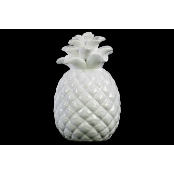 Fung Designer Embossed Lattice Pineapple Figurine by Wrought Studio