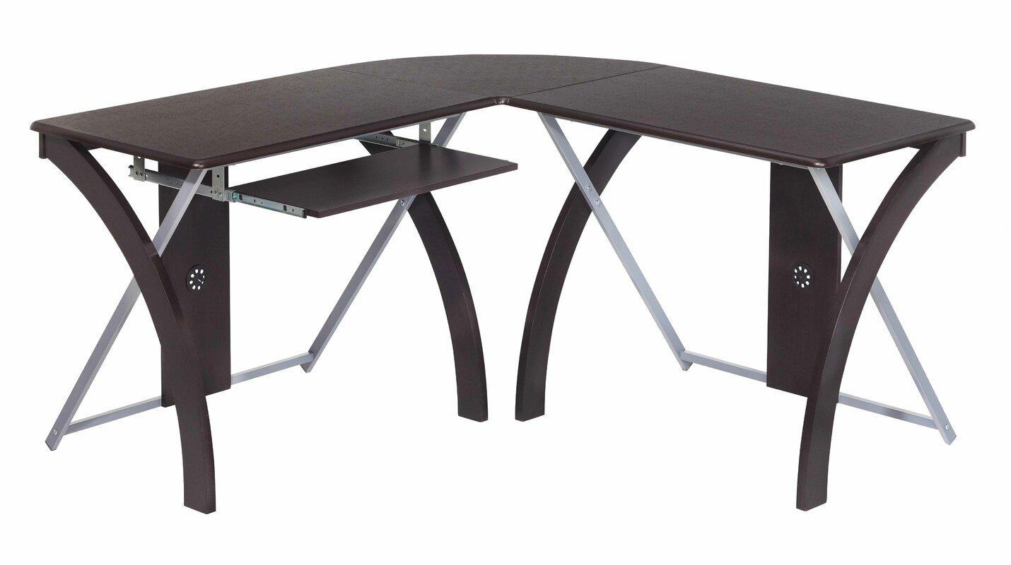 Osp Designs X Text L Shaped Writing Desk Amp Reviews Wayfair
