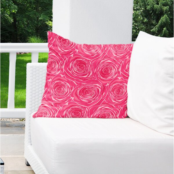 Geddes Cotton Indoor / Outdoor Floral Euro Pillow