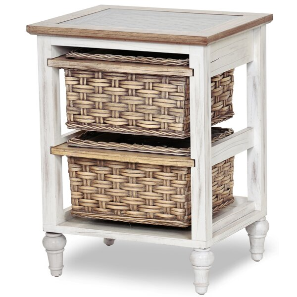 Ewell 2 Drawer Accent Chest by Bay Isle Home Bay Isle Home