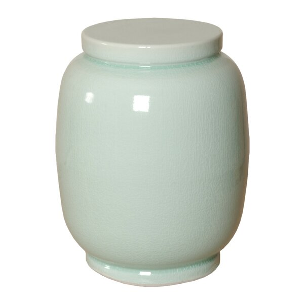 Lomanto Lantern Garden Stool by Rosecliff Heights