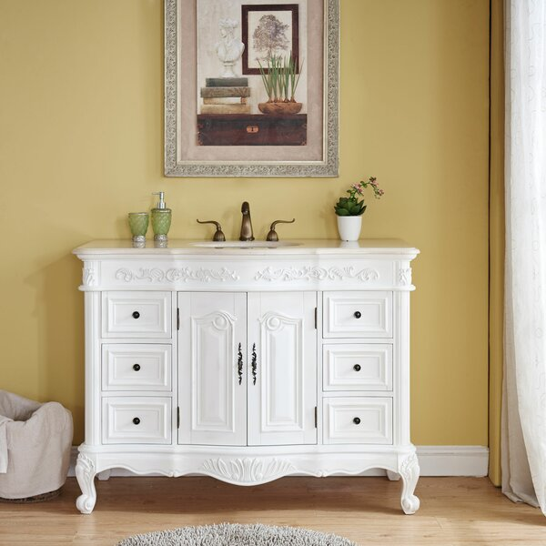 Haslett 48 Single Bathroom Vanity Set by Astoria Grand