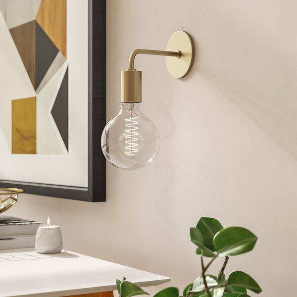 Mathew 1-Light Armed Wall Sconce by Langley Street