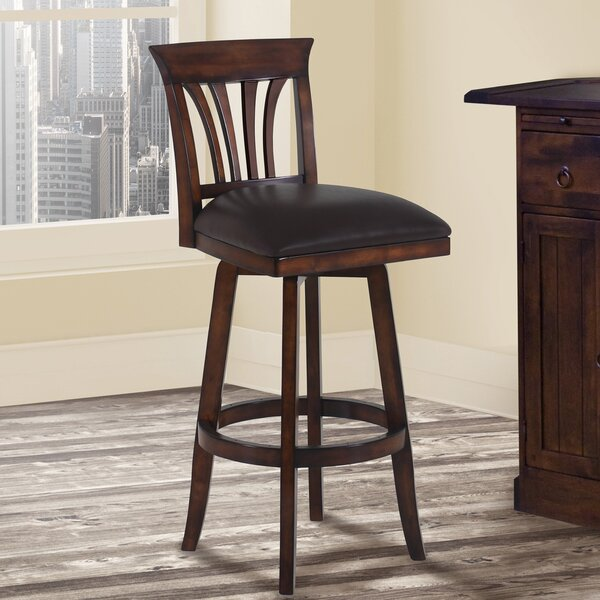 Hegwood 30 Swivel Bar Stool by Alcott Hill
