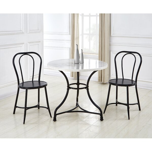 Claire 3 Piece Dining Set (Set of 2) by 17 Stories