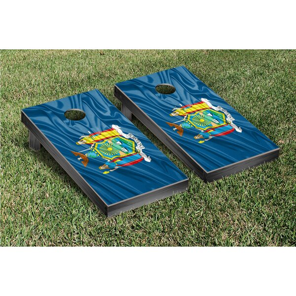 State Flag Cornhole Game Set by Victory Tailgate