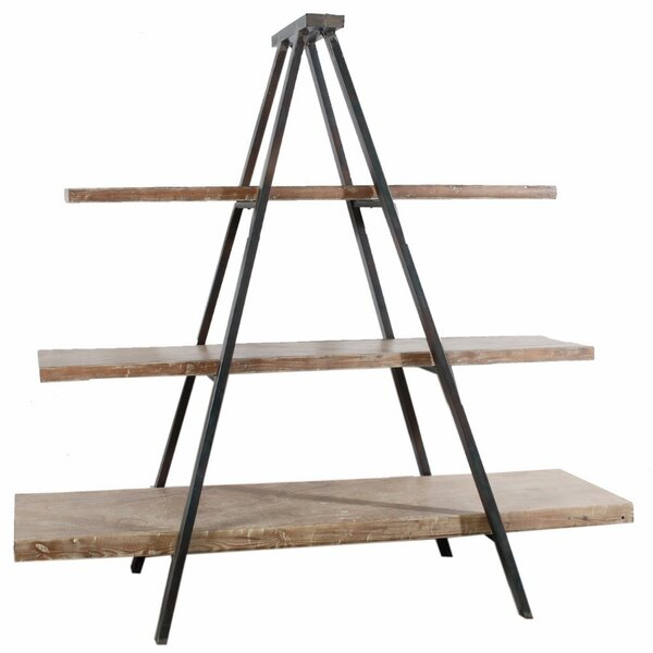 Baroda Rustically Charmed 3-Tier Ramsden Ladder Bookcase by Gracie Oaks