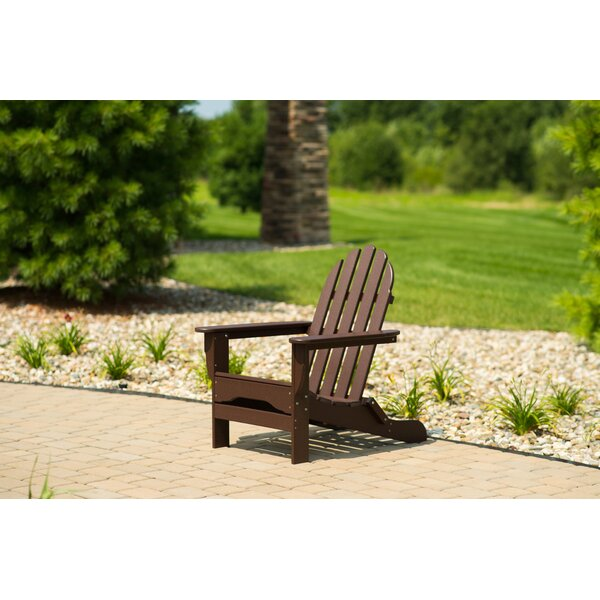 Paterson Plastic Adirondack Chair By Highland Dunes