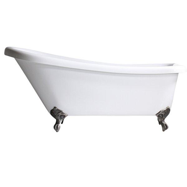 Hotel Acrylic 67 x 31 Freestanding Soaking Bathtub by Baths of Distinction