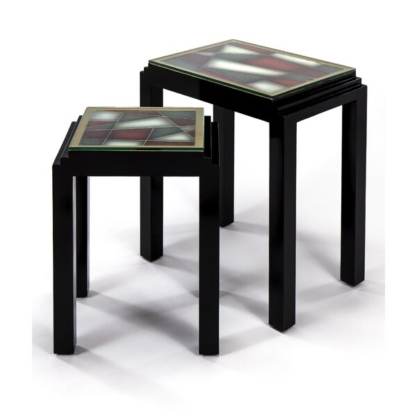 2 Piece Nesting Tables by Artmax