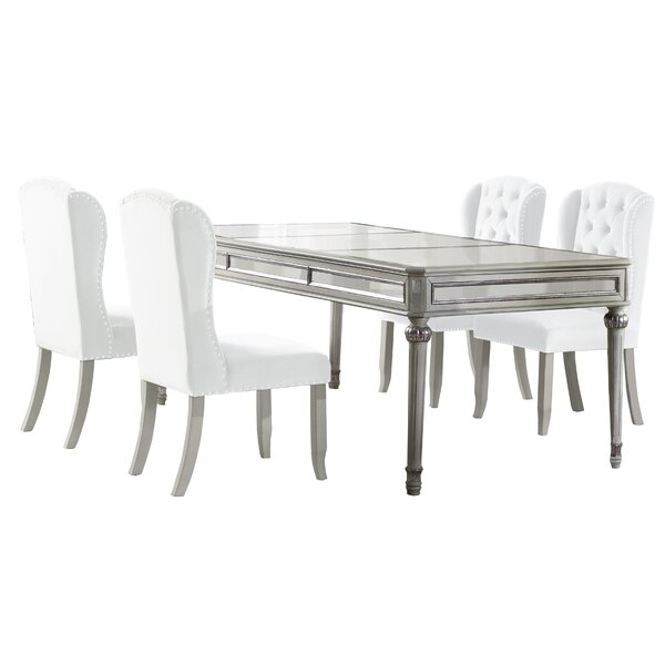 Salvatore 5 Piece Dining Set by Rosdorf Park