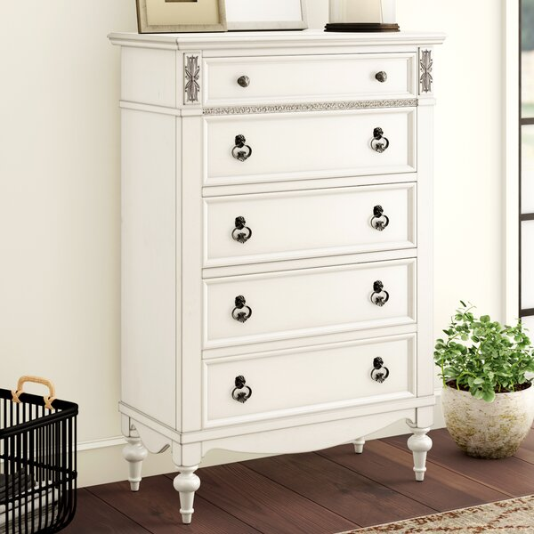 Avila 5 Drawer Standard Chest by Lark Manor