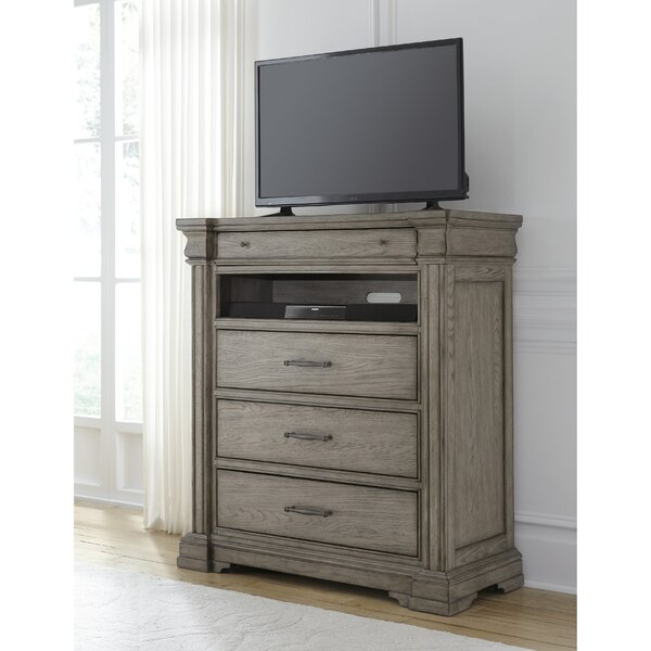 Review Haddie 4 Drawer Media Chest