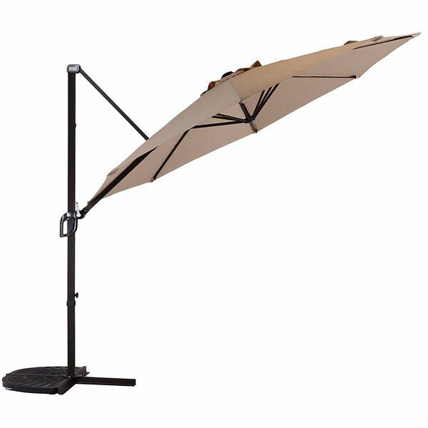 Streater 10' Wall Mount Umbrella By Ebern Designs