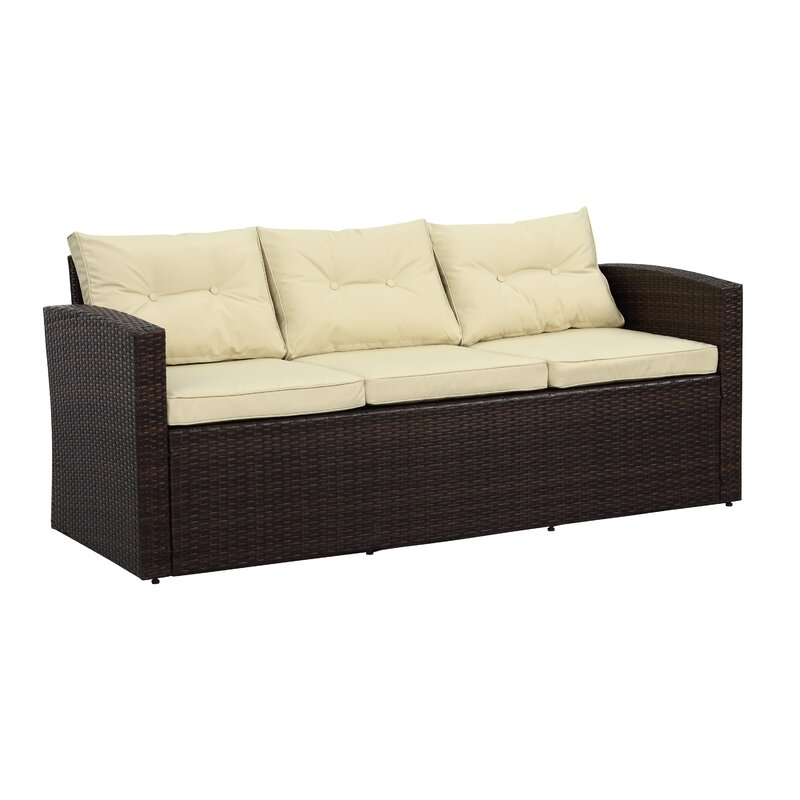 Garmon 5 Piece Sofa Set With Cushions
