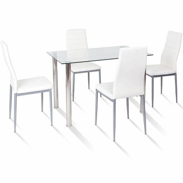 Travon 5 Piece Dining Set by Orren Ellis Orren Ellis