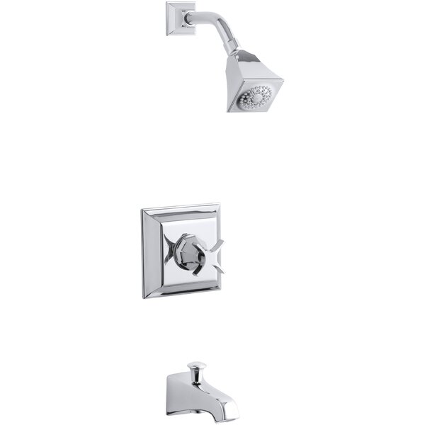 Memoirs Stately Rite-Temp Pressure-Balancing Bath and Shower Faucet Trim with Cross Handle, Valve Not Included by Kohler
