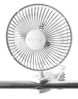 6 Air King Clip-On Table Fan by Hydrofarm