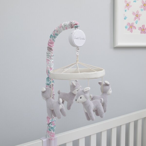 DwellStudio Sweet Fawn Deer/Forest Musical Mobile by DwellStudio